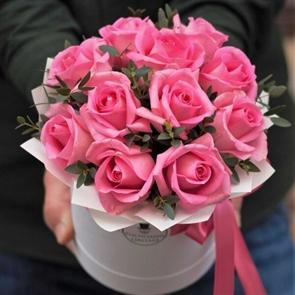 Комплимент в коробке: розовый