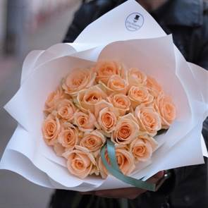 21 Персиковая роза