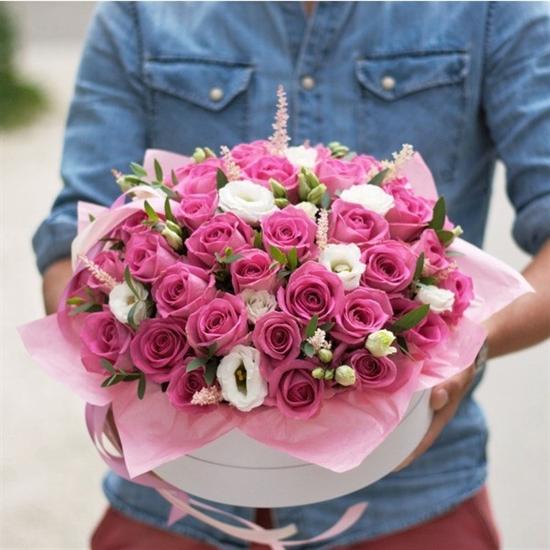 Цветочный торт от шеф-флориста - фото 4585